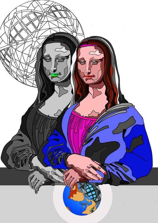 Monalisa Atomiumica -