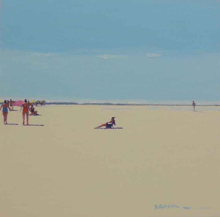 Empty beach. -