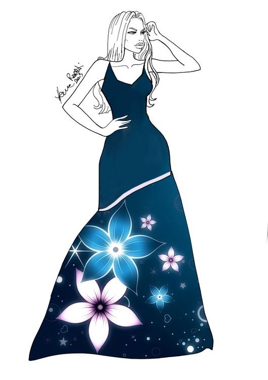 Fashion Design #37 - Flower Collection - Image 0