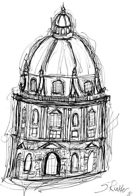 Radcliffe Camera, Oxford - Sketch -