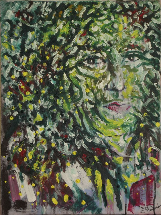 Illusionistic figure-FOLIAR FEMALE'S LOOK-Extracting shapes and forms from lebanese nature - Image 0