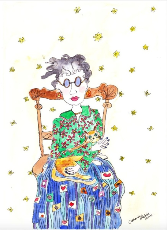 Cat Lady (Framed) - Image 0