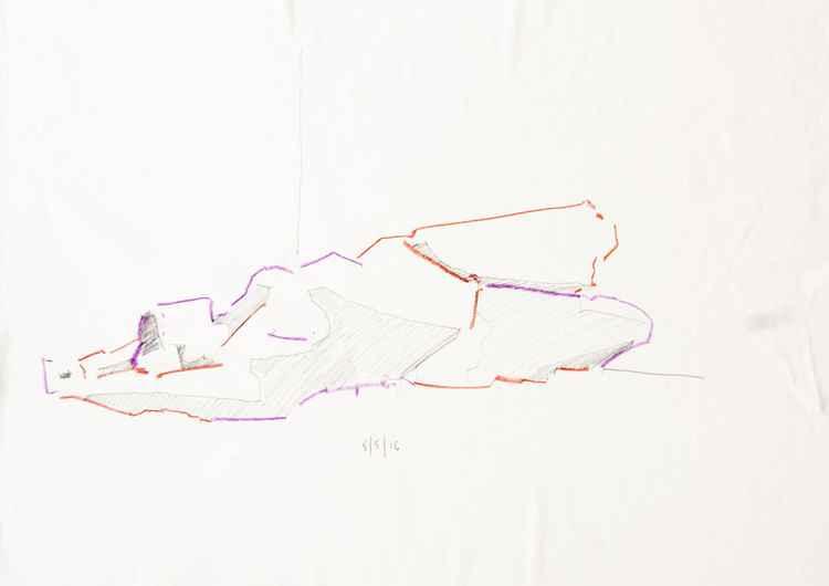 Life Drawing No 77 -