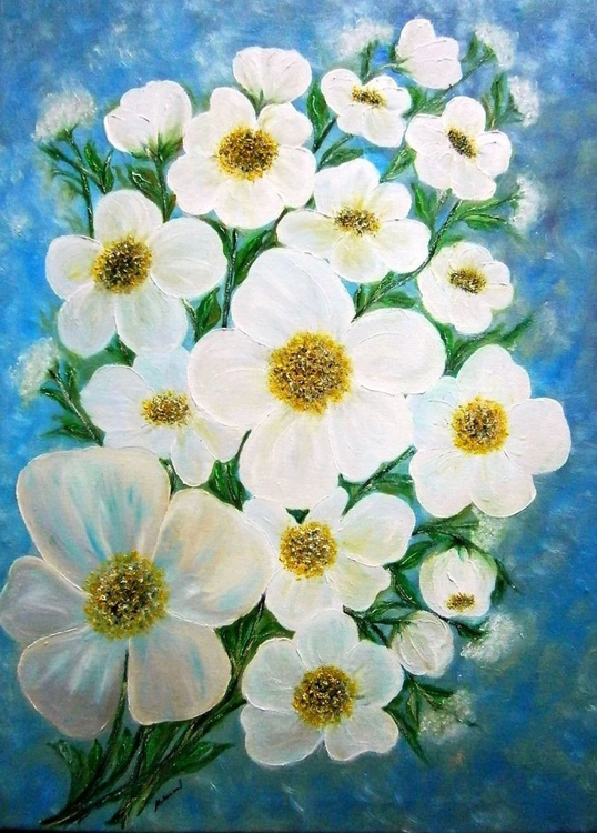 White flowers 2.. - Image 0