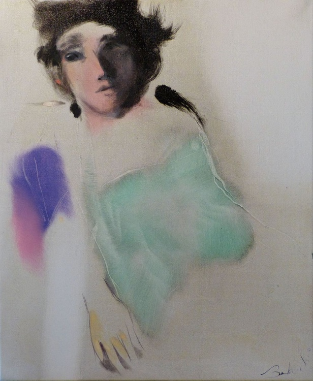 Modesty, oil on canvas #1, 65x54 cm - Image 0