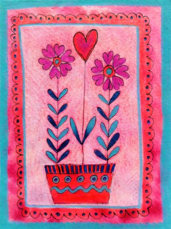 Heart Flowers (Miniature) - Image 0