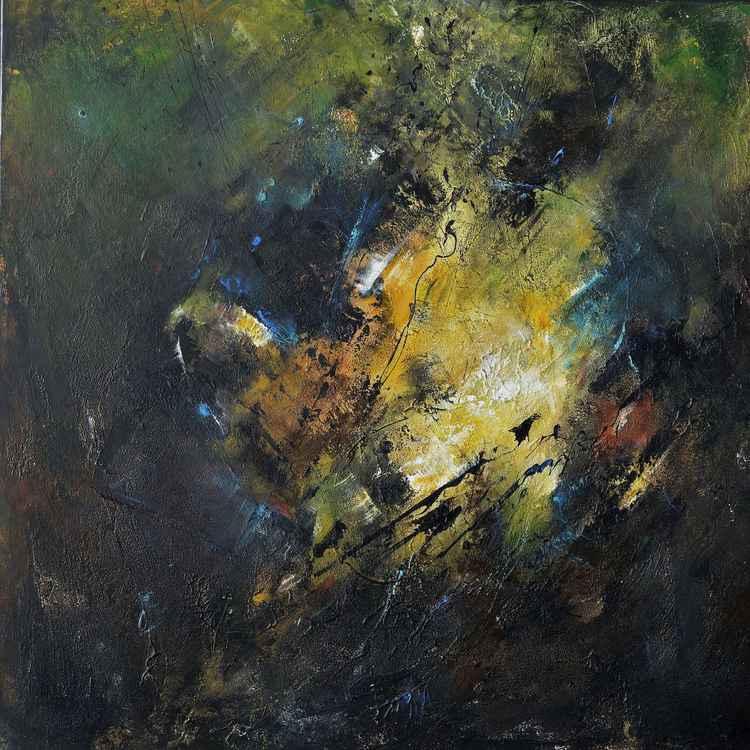 """Empreintes de vie II"" abstract art"