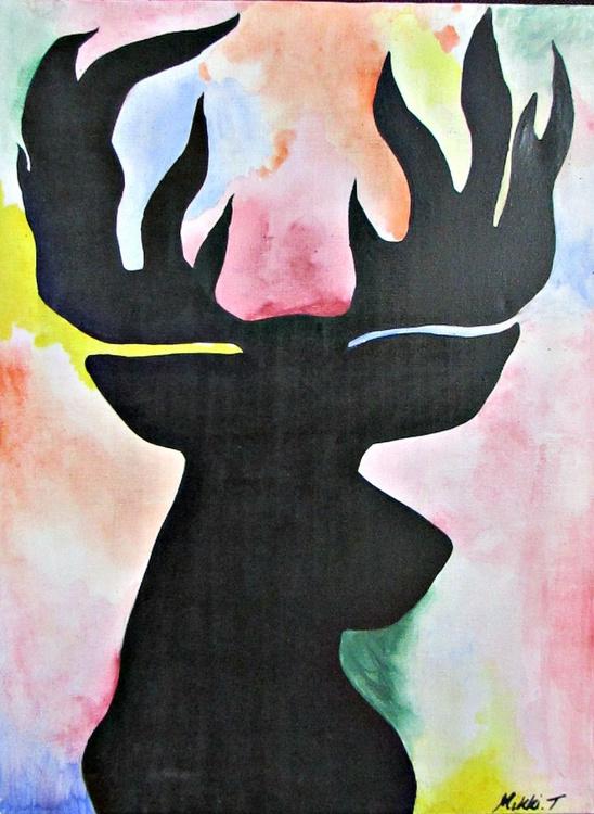 silhouette deer - Image 0