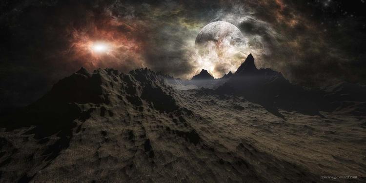A martian landscape - Image 0