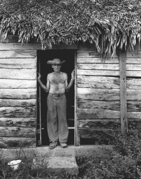 Farmer in doorway Cuba 16x20 - Image 0