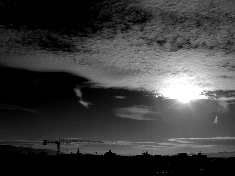 Skyline in Black and White - Image 0