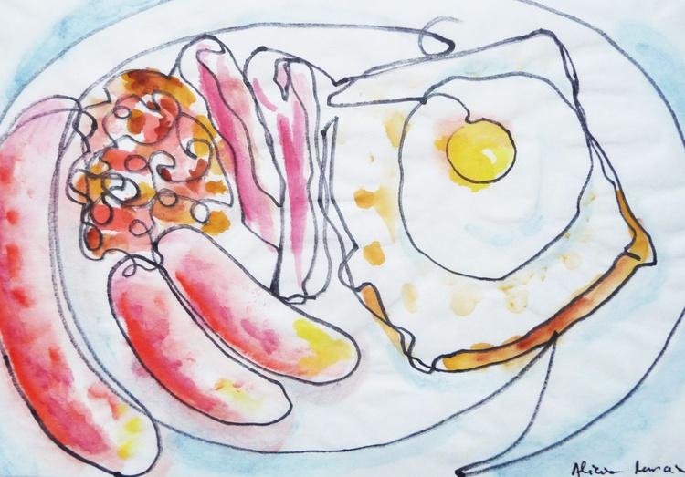 1 Line - English breakfast II - Image 0