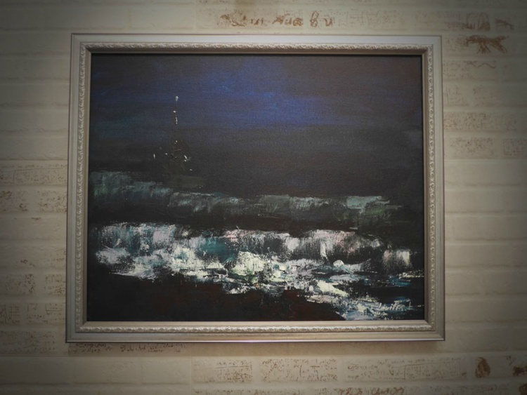 Night sea - Image 0