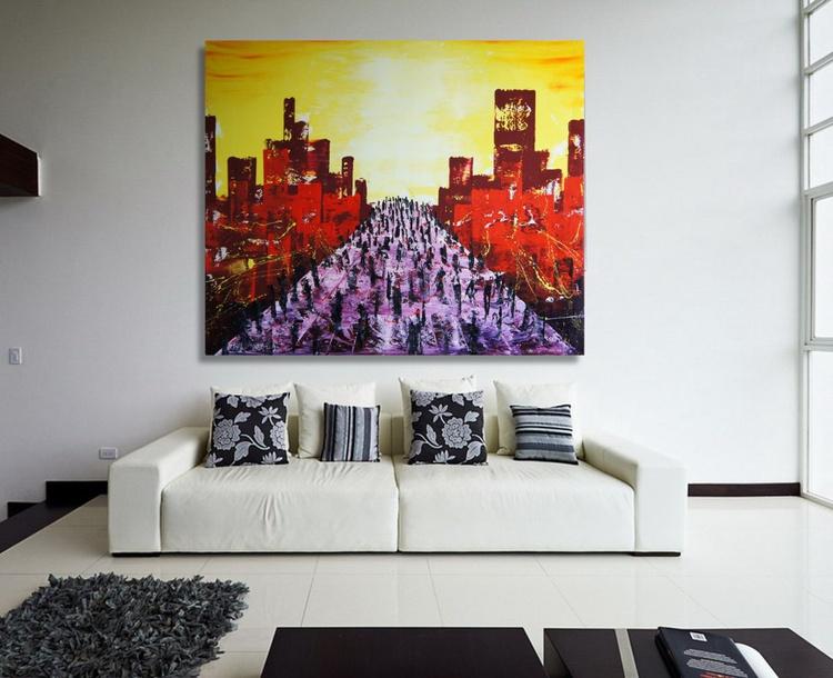 The Parade (120 x 100 cm) - Image 0