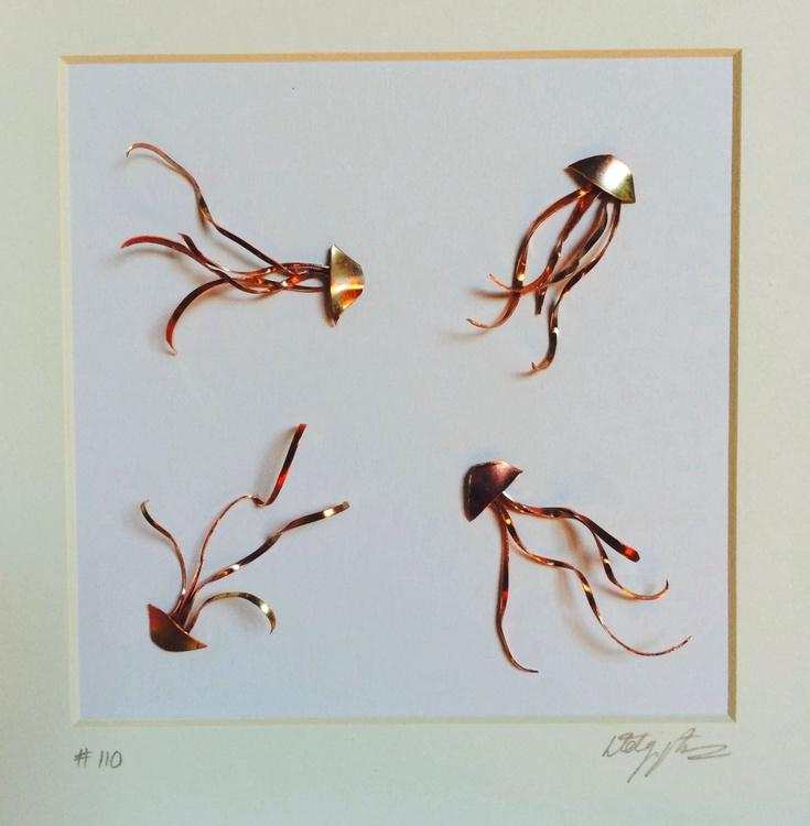 Mini Copper Jellyfish - Image 0