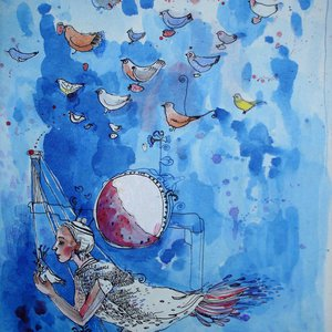 The bird by Aurelija Kairyte - Smolianskiene