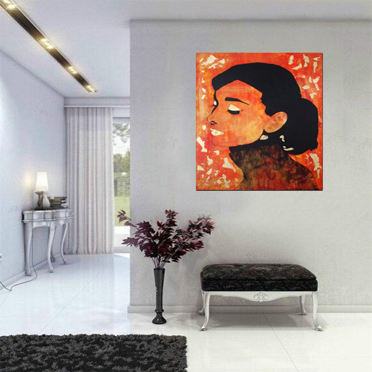 Art collections original painting toile peinture acrylique modern conte - Toile acrylique moderne ...