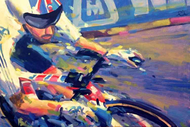 Bradley Wiggins World champion -