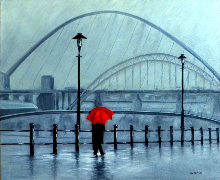 Rainy Day in Newcastle - Image 0