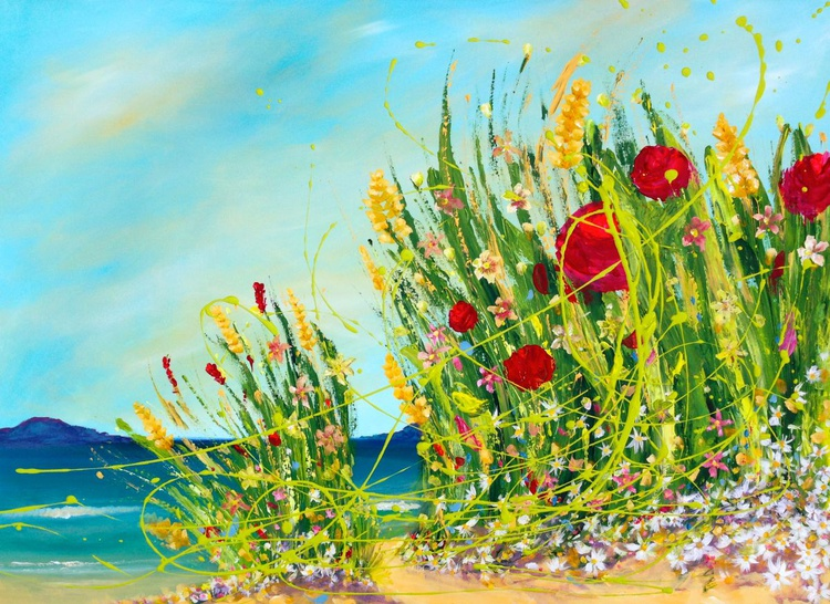 Blooming Dunes, sea and mountains - Image 0