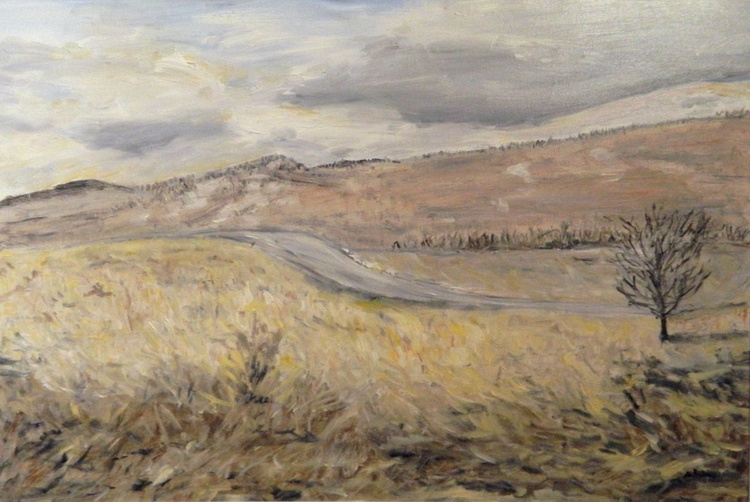 The Road Between the Hills - Image 0