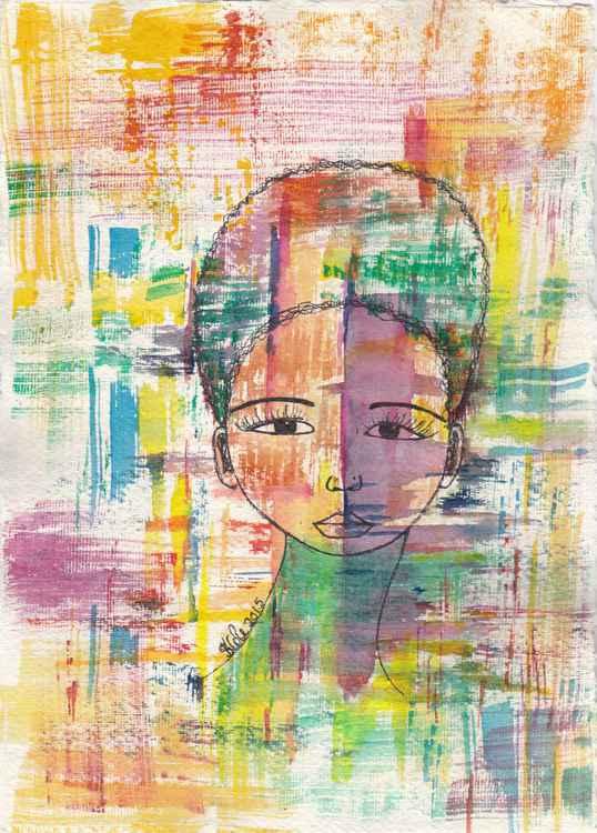 Secrets Original Watercolor Art -