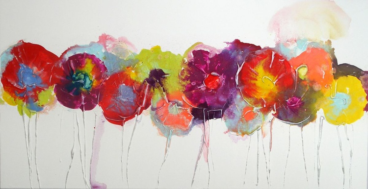 Bold Bright Blooms - Image 0