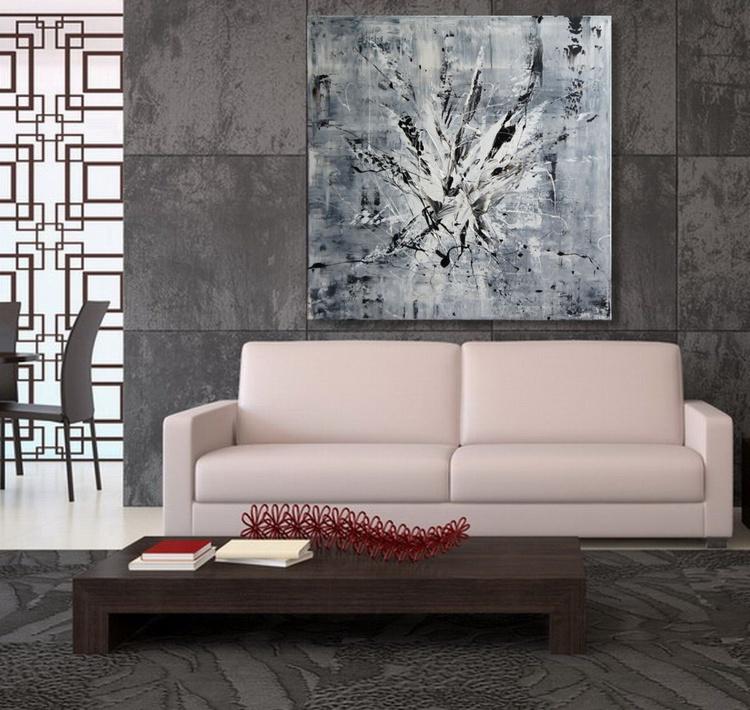 Bang Noir (80 x 80 cm) - Image 0