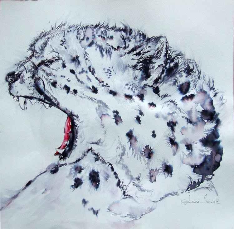 Watercolour Study of Cheetah II