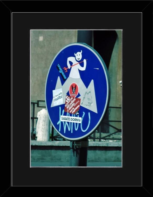 Devil Sign - Florence - Framed - Image 0