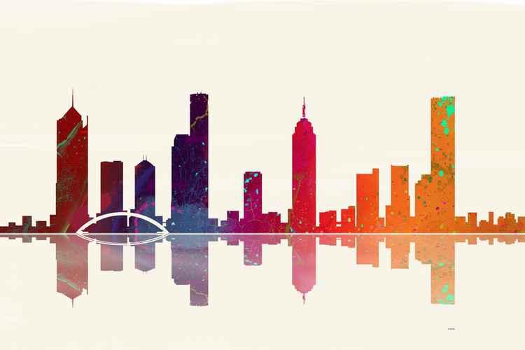 Melbourne Skyline 1 -