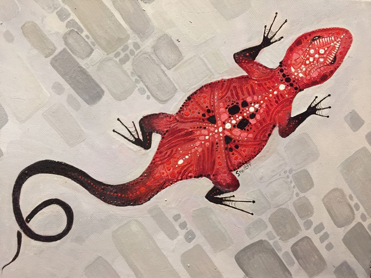 Red Lizard - Image 0