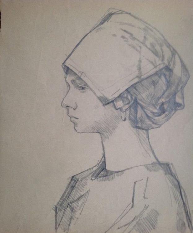 Girl with special Hat - Image 0