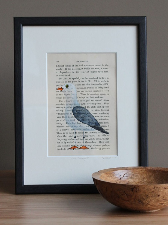 """In The Woods - """"The Seagull"""" (framed) - Image 0"""