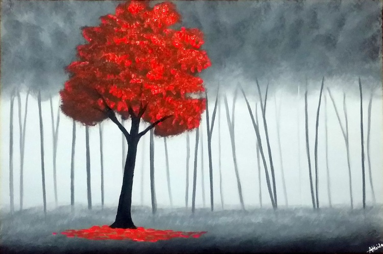 Red Tree - Image 0