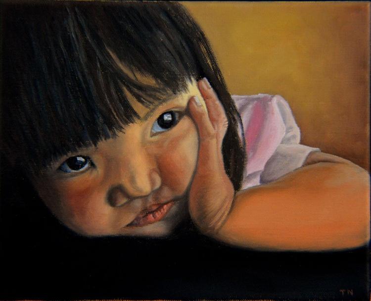 Amelie-An 2 - child portrait - little girl - Image 0