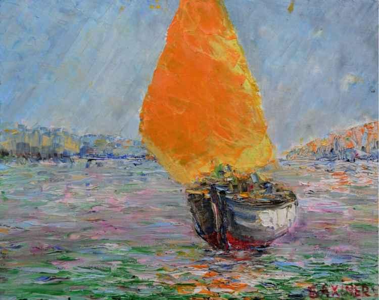 Yellow sail.