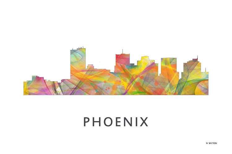 Phoenix Arizona Skyline WB1 -
