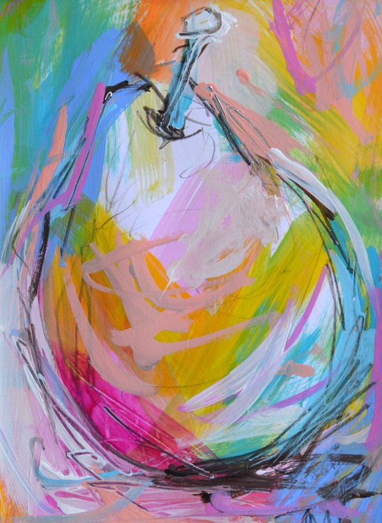 Colourful Pear II - Image 0