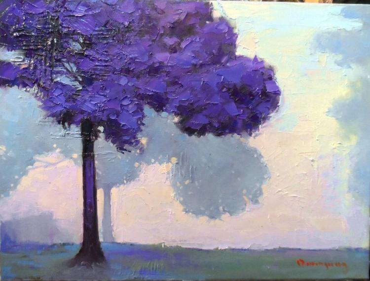 """Purple Tree"""""""""""""""""""" - Image 0"""