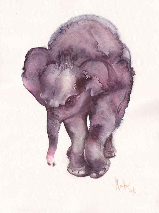 Melancholic Elephant