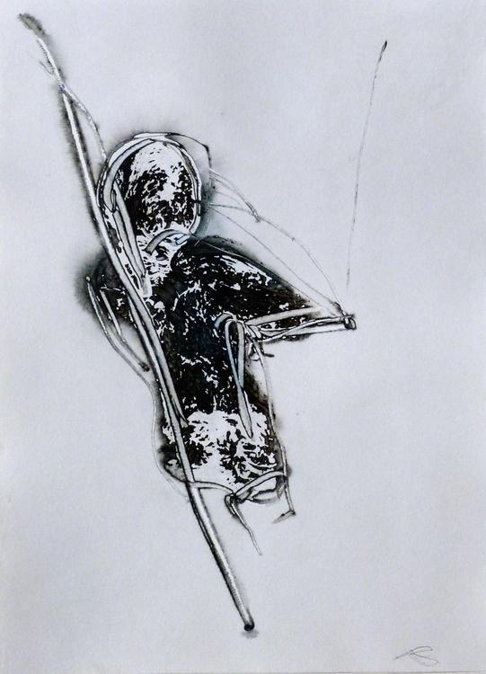 Prolegomena #77 , Acrylic on paper 29x42 cm - Image 0