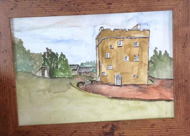 Cranshaws castle -
