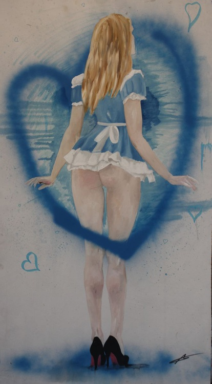 Study For Alice In Wonderland - Image 0