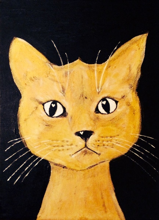 REAL GOLD-THE GOLDEN CAT - Image 0