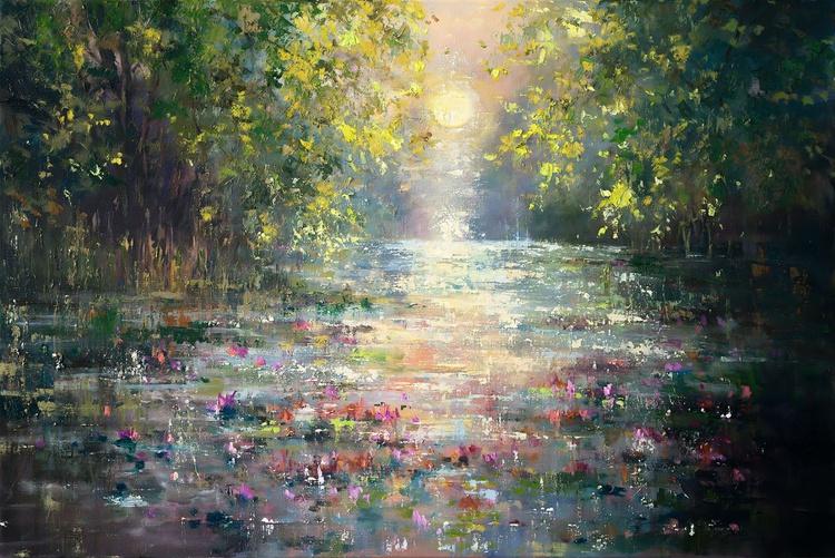 'Dance over Pond' - Image 0
