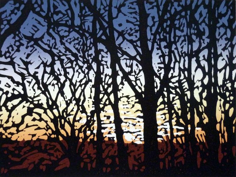 Stoke Wood Sunset - Image 0