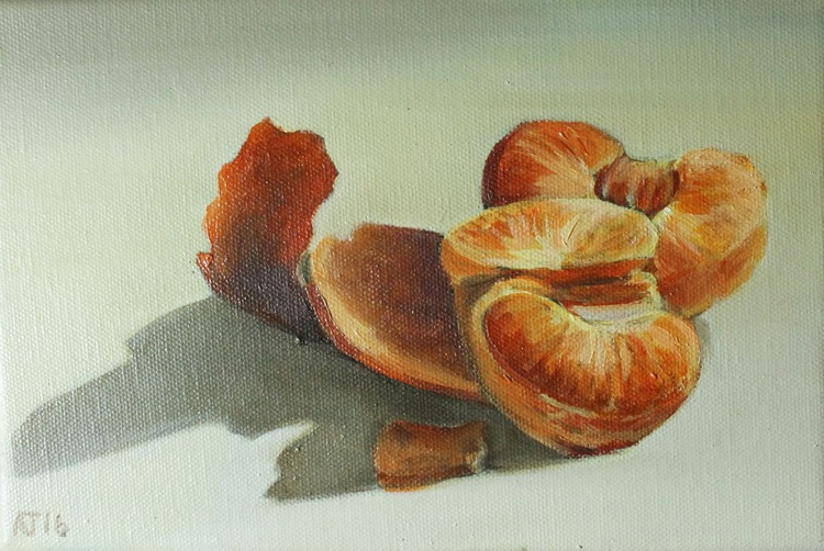 Peeled Mandarin Still Life - Image 0