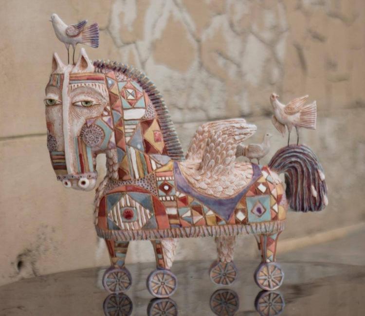 Pegasus in Troja - Image 0