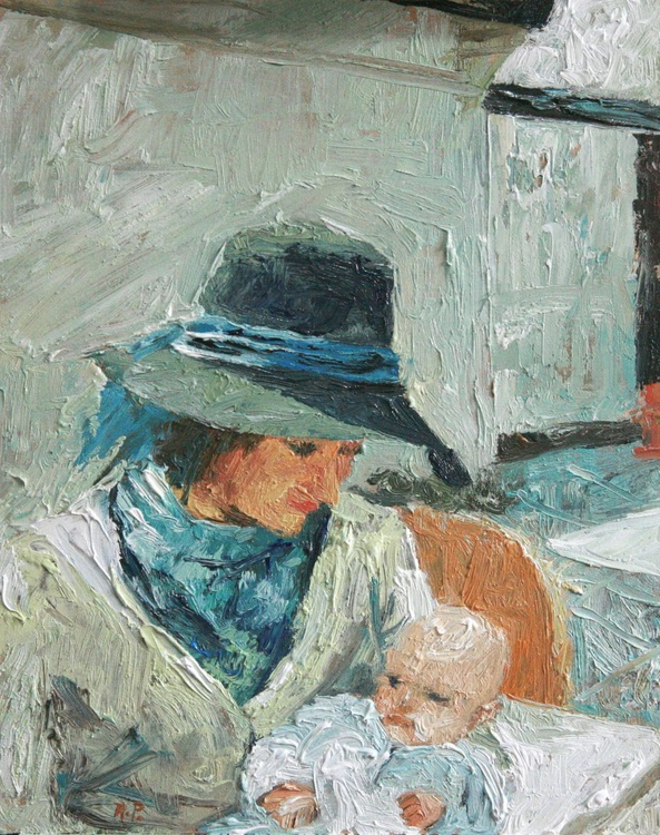 Little Emily ( Mother with child ) - Image 0